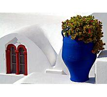 Santorini 1 Photographic Print