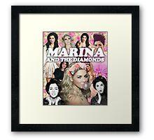 Marina and the Diamonds Framed Print