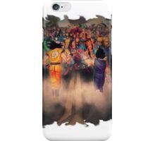 Goku And Vegeta VS Marvel Characters  iPhone Case/Skin