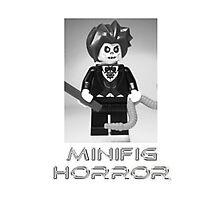 Minifig Horror - Evil Magician Custom Minifig Photographic Print
