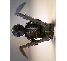 Custom Black Shadow Assassin Minifig Photographic Print