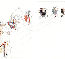 book double spread by C Lance