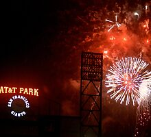 Fireworks - AT&T Park by Lexie  Ramos