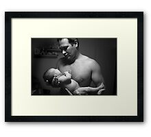 me and my Girl Framed Print