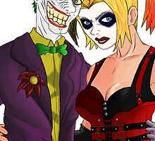Harley and Joker: Mad Lovers by ulrich5000