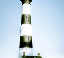 Bodie Lighthouse 2 by Dawn Crouse