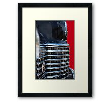 Fierce Grill Framed Print