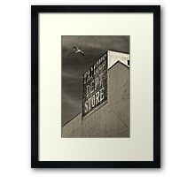 Famous Department Store Framed Print
