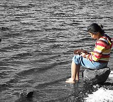 Lakeside Thinker by Stevie Toye
