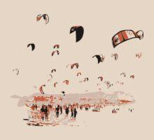 Kite Surfing Tarifa by Grobie