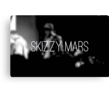 Skizzy Mars Poster Canvas Print