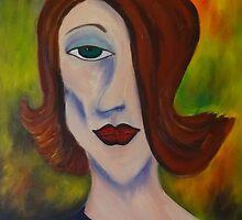 Lady in Purple by Robbij