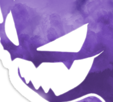 Pokemon: Textured - Haunter Sticker