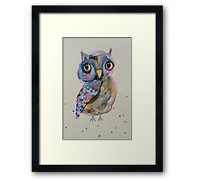 Quirky Owl 2 Framed Print