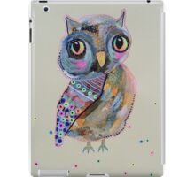 Quirky Owl 2 iPad Case/Skin