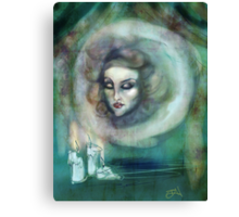 Let There Be Music - Madame Leota Haunted Mansion Art Canvas Print