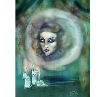 Let There Be Music - Madame Leota Haunted Mansion Art Photographic Print