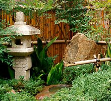 Japanese garden feature by jwwallace