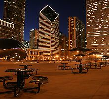 Lonely in Millenium Park by bestm