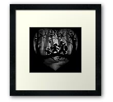 Heartless Forrest Framed Print