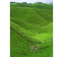 Volcanic Valley Photographic Print