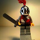 'Lion Knight Quarters' Minifig by Chillee