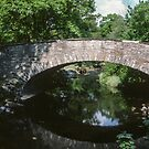 Our walk started across this bridge at Rydal Lake District England 198405200006 by Fred Mitchell