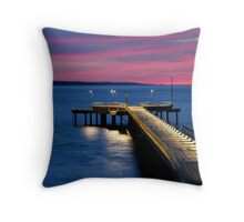 Lorne Pier, New Day, New Life Throw Pillow