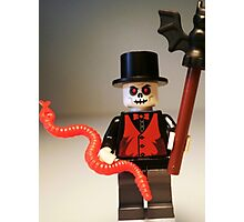 Voodoo Priest / Witch Doctor Zombie Custom Minifig Photographic Print