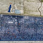 Wall of Love, Montmartre, France by Elaine Teague
