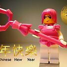 Happy Chinese New Year Greeting Card by Chillee