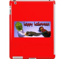 """""""Happy Halloween"""" Custom Halloween Dr Toxic Minifigure iPad Case/Skin"""