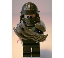 TMNT Teenage Mutant Ninja Turtles Master Shredder Custom Minifig Photographic Print