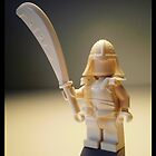 Ching Dynasty White Ghost Warrior Statue Custom Minifig by Chillee