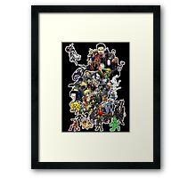 DOODLE! Framed Print