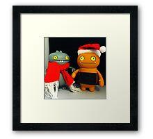 Babo & Wage Xmas Framed Print