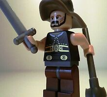 Gladiator 'Titus the Gladiator' Custom Minifigure by Chillee
