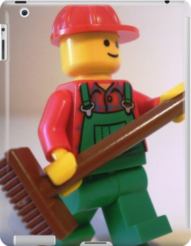 'Bert the Street Cleaner' Minifigure by Chillee