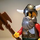 Viking Warrior with Custom Battle Axe by Chillee