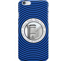 NYC-I met life up Park Avenue * iPhone Case/Skin