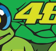 Valentino Rossi Tartaruga Sticker