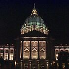 City Hall at night in San Francisco by nansnana62