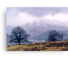 Ullswater View Canvas Print