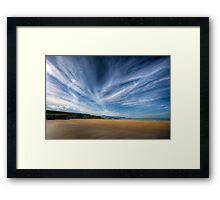 A Donegal Beach Framed Print