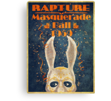Bioshock: Rapture Masquerade ball 1959 Canvas Print