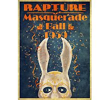 Bioshock: Rapture Masquerade ball 1959 Photographic Print