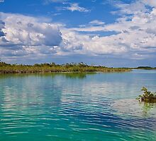 Lake Bacalar by vadim19