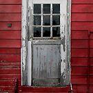 Old Cider Mill Door by Pamela Burger