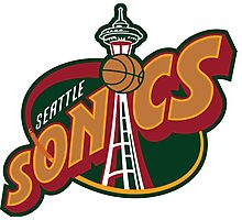 Seattle Supersonics Photographic Print