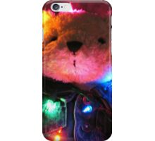 Merry Tangled Up Christmas Card iPhone Case/Skin